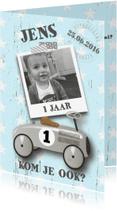Kinderfeestjes - Kinderfeestje loopauto stoer