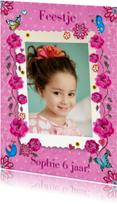 Kinderfeestjes - Kinderfeestje meisje Roos Eigen Foto