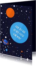 Kinderfeestjes - Kinderfeestje Outer Space jongen