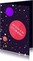 Kinderfeestjes - Kinderfeestje Outer Space meisje