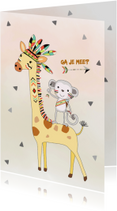 Kinderfeestjes - Kinderfeestje safaripark-dierentuin