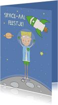 Kinderfeestjes - Kinderfeestje Space-aal!