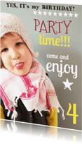 Kinderfeestjes - Kinderfeestje uitnodiging typo