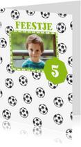 Kinderfeestjes - Kinderfeestje voetbal en foto