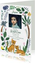Kinderfeestjes - Kinderfeestje Wild One tijgers