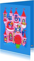 Kinderkaarten - Kinderkaart  luchtkasteel PA