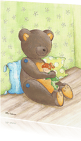 Kinderkaarten - Knuffelbeer Illu-Straver
