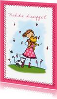 Vriendschap kaarten - Knuffelbeer