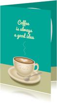 Vriendschap kaarten - Koffie afspreken - TW