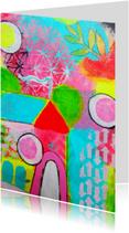 Kunstkaarten - Kunst Sprookjeshuisje - AS