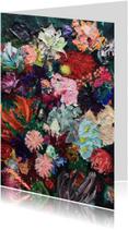 Kunstkaarten - Kunstkaart print van schilderij Weelderig