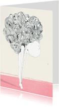 Kunstkaarten - Kunstkaarten illustratie ballerina