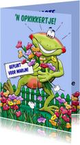 Beterschapskaarten - Leuk opkikkertje met geplukte bloemen voor de zieke