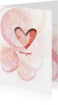Liefde kaarten - Liefde - Waves of Love - MW