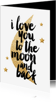 Liefde kaarten - liefdes kaart met hippe tekst