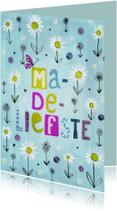 Moederdag kaarten - Ma-de-liefste moederdagkaart
