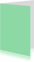Blanco kaarten - Mint dubbel staand