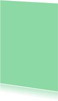 Blanco kaarten - Mint enkel staand