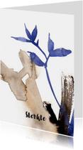 Sterkte kaarten - Moderne sterktekaart in aquarel