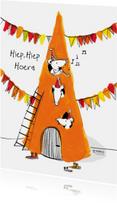 Verjaardagskaarten - Muizen felicitatiekaart