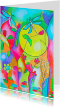 Kunstkaarten - My Fairytale Garden