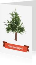 Kerstkaarten - Naaldboom