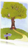 Kinderkaarten - Naar school