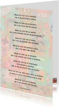 Gedichtenkaarten - Neem de tijd