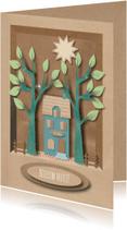 Felicitatiekaarten - New Home Woodland