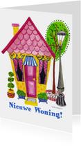 Felicitatiekaarten - Nieuwe Woning by Cartita Design
