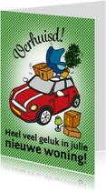 Felicitatiekaarten - Nieuwe woning - mini