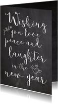 Nieuwjaarskaarten - Nieuwjaarskaart wishing - SK