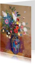 Bloemenkaarten - Odilon Redon. Wilde bloemen