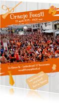 Uitnodigingen - Oranje Feest! - BK