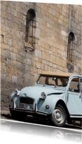 Vakantiekaarten - Oude Eend voor Kerkmuur
