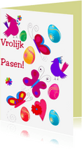 Paaskaarten - Pasen in de lucht