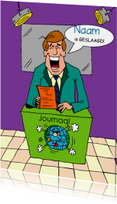 Geslaagd kaarten - persoonlijke felicitatie humor