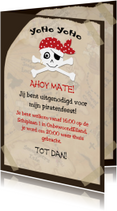 Kinderfeestjes - Piraten feestje