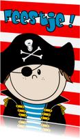 Kinderfeestjes - Piratenfeest stoere piraat