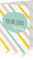 Religie kaarten - Religie kaarten Christeljk You are loved