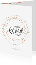 Religie kaarten - Religie - you are loved