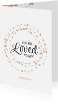 Religie kaarten - Religie - you are loved
