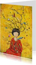 Religie kaarten - Religiekaart Tangled