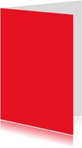 Blanco kaarten - Rood dubbel staand