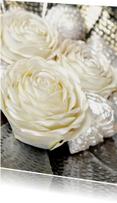 Bloemenkaarten - Roos wit - OTTI