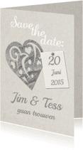 Trouwkaarten - Save... eigen datum