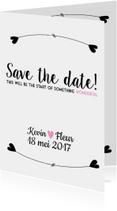 Trouwkaarten - Save the Date - Wonderful
