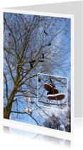 Wenskaarten divers - Schoenen in de Wilgen - avondvierdaagse