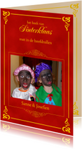 Sinterklaaskaarten - Sinterklaas boek met eigen foto