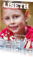 Sinterklaaskaarten - Sinterklaaskaart Eigen Foto Huisjes